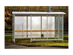 Emerald Enclosed Bus Shelter