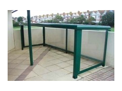 Enclosed Pram Shelters