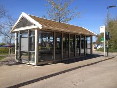 Bespoke Timber Bus Shelter