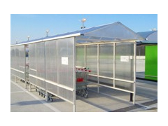 Pitched Trolley Shelter