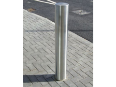 Semi-Domed Top Stainless Steel Bollard