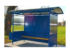 Anti-Vandal Ruby Bus Shelter